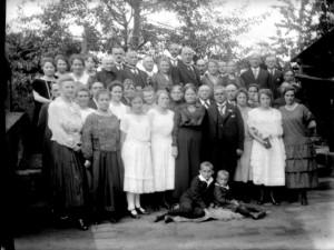 Silberhochzeit Horstmann, September 1924